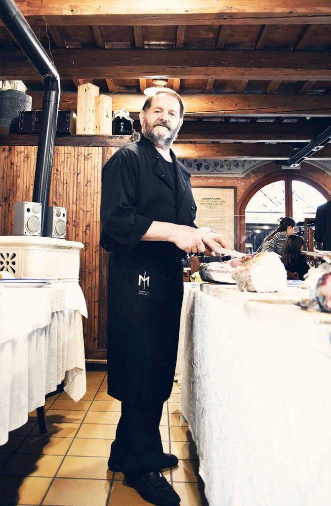 Maurizio Dolcetto - Chef Ristorante al Cavaliere