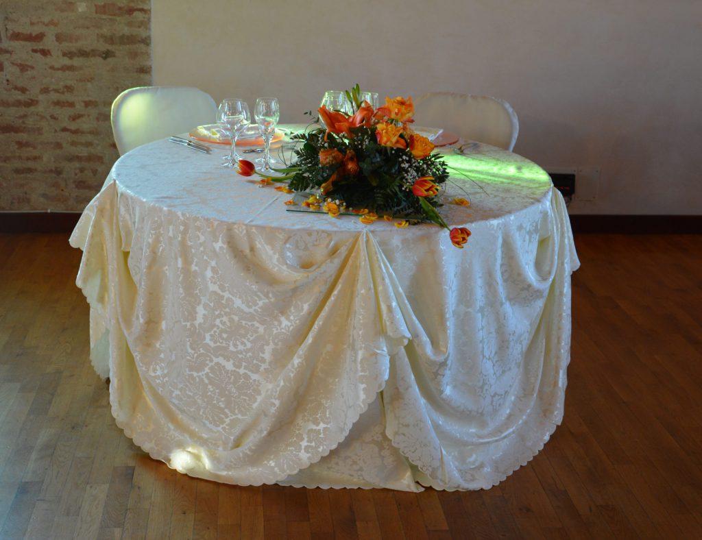 Tavolo per Sposi a Corte